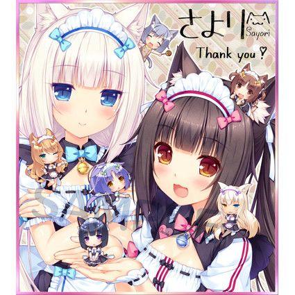 两只可爱的猫娘