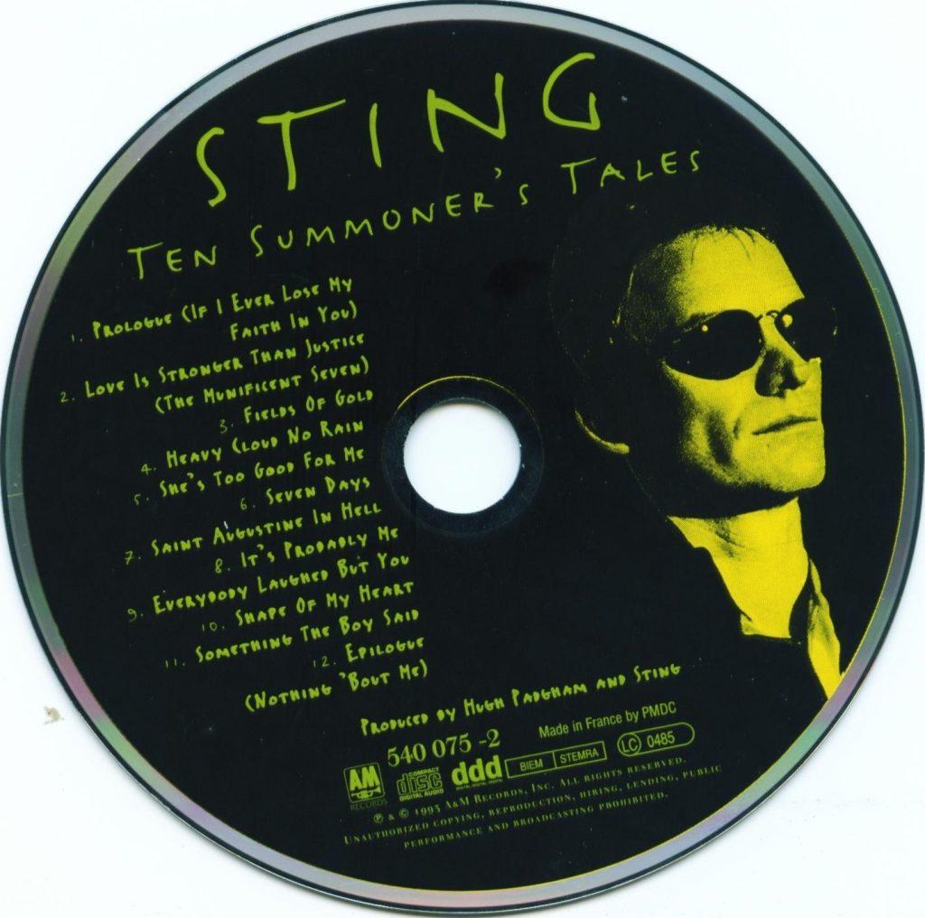 Sting – Ten Summoners Tales (1993) FLAC Soup(这个杀手不太冷)