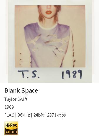 [Hi-res]Taylor Swift – 1989