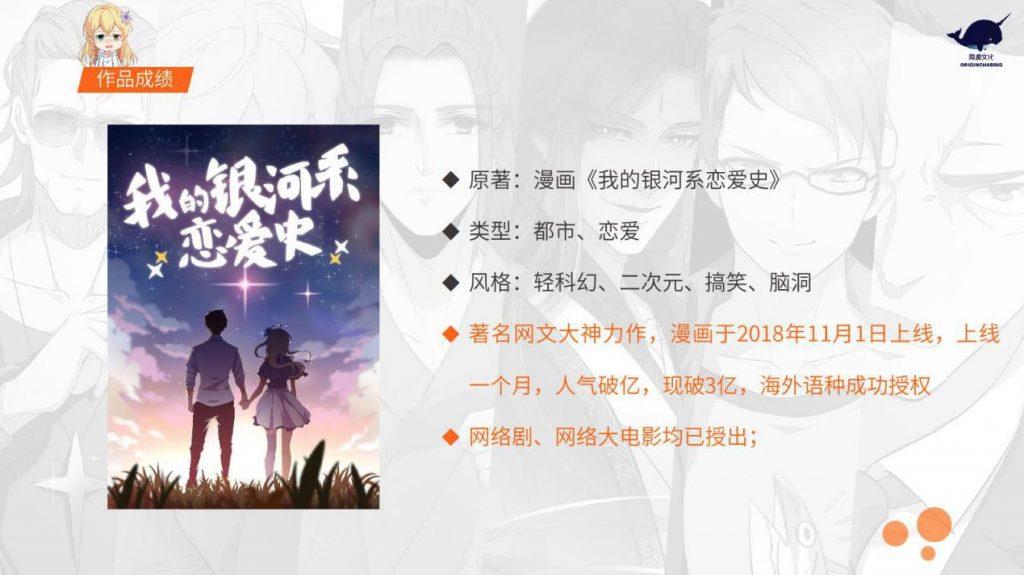 《我的银河系恋爱史》入选歌华有线杯·2019年北京文化创意大赛决赛