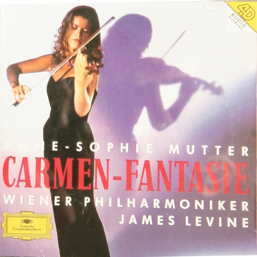 [Hi-res]穆特(卡门幻想曲)Anne-Sophie Mutter – Carmen-Fantasie
